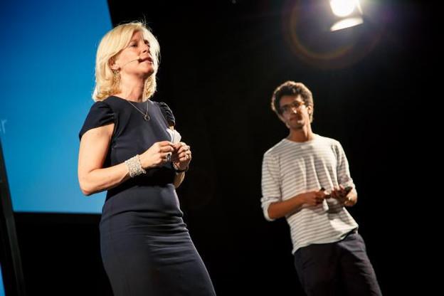 Nathalie Dondelinger et Jonathan Levi (Kliber). (Photo: Maison Moderne)