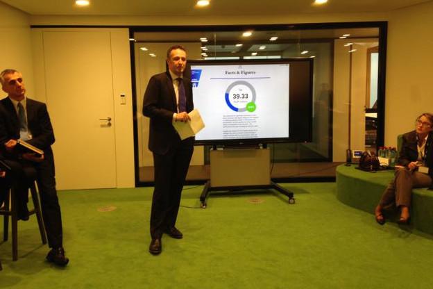 Pour Georges Bock, managing partner de KPMG, quand on fait bien les choses, on arrive à de bons résultats. (Photo: DR)