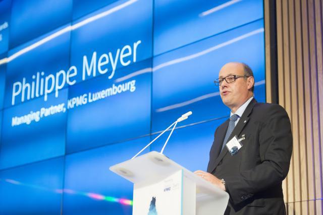 Philippe Meyer, managing partner de KPMG: «Nous voulons donner le ton dans le domaine des technologies et jouer les premiers rôles pour permettre au Luxembourg de réaliser son potentiel numérique». (Photo: Maison Moderne / Archives )