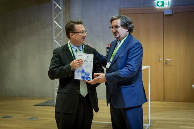KYC3 a été récompensée par le premier Flagship Award à destination d'une start-up. (Photo: Maison Moderne)