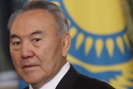 Le président Nursultan Nazarbayev aurait financé les frais d'avocat des veuves de deux banquiers de la Nurbank. (Photo: jamestown.org)