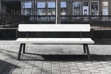 «Un banc est un objet très intemporel, il y en a eu dans le passé et il y en aura dans le futur» selon Max Steffen. (Photo: DR)
