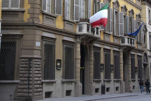 Le siège historique de Credem, dans la ville de Reggio d'Émilie, en Italie. (Photo: Credem.it)