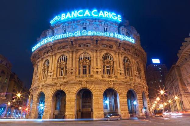 La banque génoise Carige sera sous contrôle de trois administrateurs provisoires nommés par la BCE. (Photo: Shutterstock)