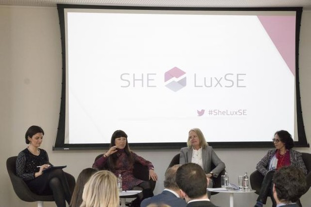 L'initiative #SheLuxSE a été lancée par ce premier événement lundi soir.  (Photo: Bourse de Luxembourg)
