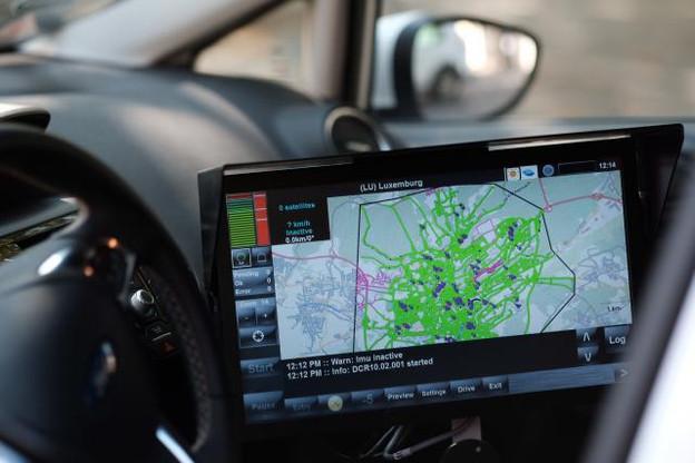 Les images à 360° prises par la caméra haute définition doivent servir notamment à améliorer la planification des travaux dans la capitale. (Photo: Sébastien Goossens)
