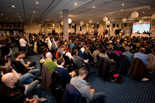 Plus de 500 adhérents de la CGFP étaient venus lundi soir à la manifestation de la confédération. (Photo: Nader Ghavami)