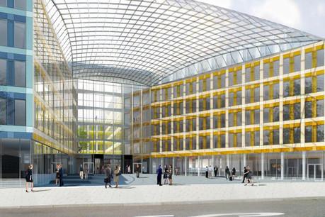 EY Luxembourg prendra encore possession de ses nouveaux bureaux avant la fin de l'année. (Photo: Archiduc / archives)