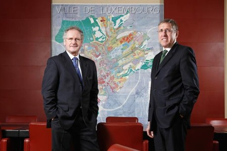 Selon Abbes Jacoby, les discussions entre le DP et Déi Gréng autour de l'hégémonie du CSV ont débuté l'année de la reconduction de la coalition à Luxembourg-ville, dirigée par le duo Paul Helminger-François Bausch. (Photo: Olivier Minaire / archives)