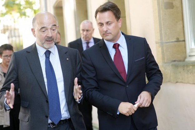 Le commissaire européen Pierre Moscovici devra convaincre le gouvernement de Xavier Bettel qu'en tant que petit État, le Luxembourg ne sortira pas perdant du projet Accis. (Photo: Christophe Olinger / archives)