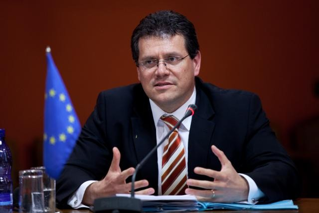 Pour Maros Sefcovic, l'Europe est à la traîne face aux États-Unis et à la Chine dans la fabrication de batteries électriques. (Photo: DR)