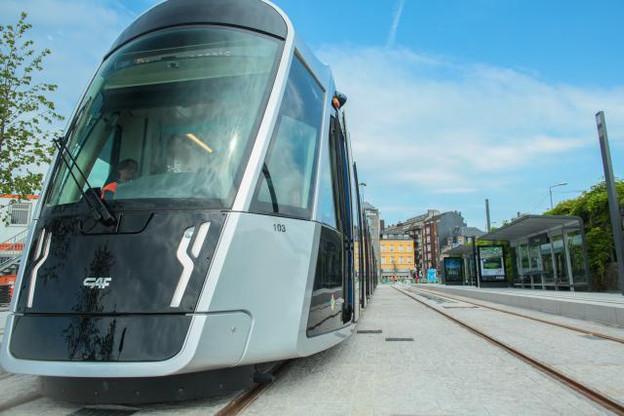 François Bausch a répété son idée de tram rapide entre Luxembourg et Esch-Belval. (Photo: Matic Zorman / archives)