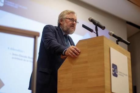 Jean-Claude Reding: «Nous sommes occupés à préparer la campagne d'information, car nous savons que de nombreux salariés ne nous connaissent pas.» (Photo: Matic Zorman)