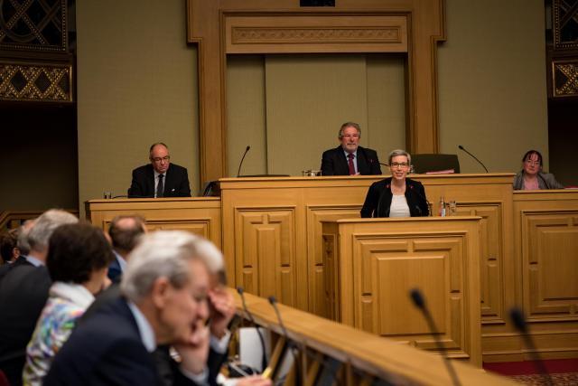 La députée écologiste Sam Tanson a mis en avant le Luxembourg Arts Council, qui aurait pour mission de soutenir la création, encourager la mobilité et la diffusion internationale. (Photo: Nader Ghavami / archives)