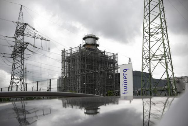 Non rentable, la centrale gaz-vapeur Twinerg va fermer en octobre prochain. (Photo: Luc Deflorenne / archives)