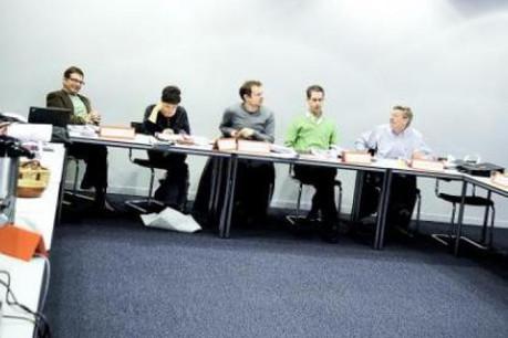 Le jury en séance plénière. (Photo: David Laurent/Wide)