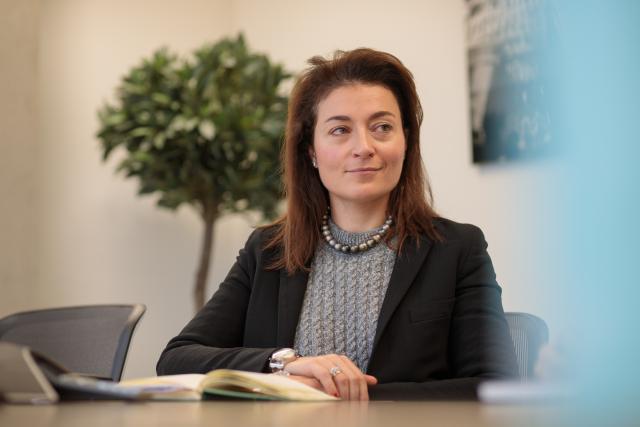 Flavia Micilotta – La nouvelle directrice du LGX veut populariser la finance responsable. (Photo: Matic Zorman)
