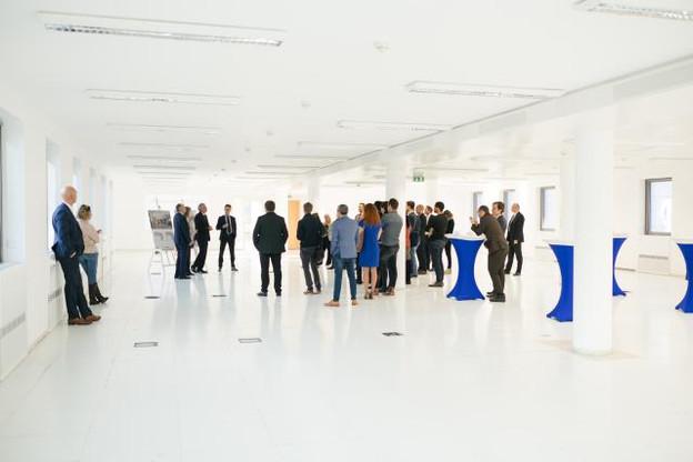 La Lhoft et le futur incubateur de la Ville de Luxembourg se partageront les 4.200m2 situés dans le bâtiment Le Dôme, au croisement des quartiers Gare et de Bonnevoie. (Photo: Sébastien Goossens)