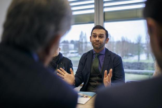 Nasir Zubairi: «Dans nos nouveaux locaux, nous voulons donner envie à tout Luxembourg de passer plus de temps chez nous que dans leurs propres bureaux.» (Photo: Maison Moderne / Archives )