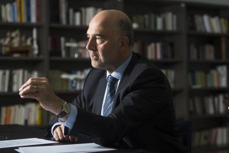 Le commissaire Pierre Moscovici veut améliorer l'efficacité des enquêtes de l'Olaf. (Photo: Anthony Dehez)