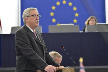 Jean-Claude Juncker le 26 novembre lors de la présentation du plan d'investissement de 300 milliards d'euros. (Photo: Commission Européenne)