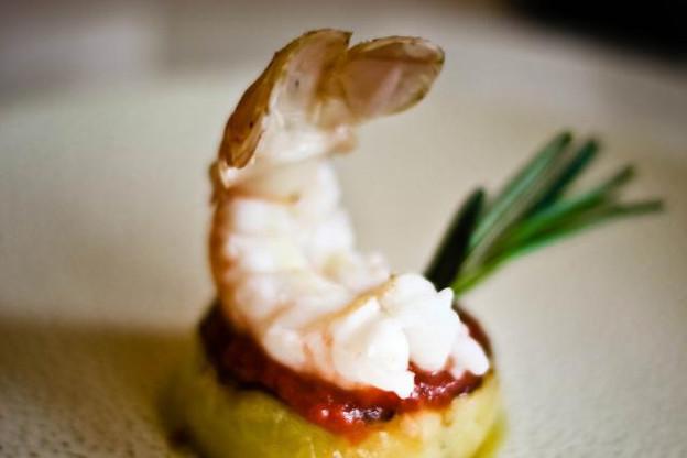 La nage de ravioles de homard façon chef Favaro. (Photo: Ristorante Favaro)
