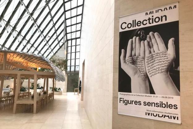 La nouvelle identité graphique du Mudam est déjà visible à l'intérieur du musée. (Photo : Mudam Luxembourg)