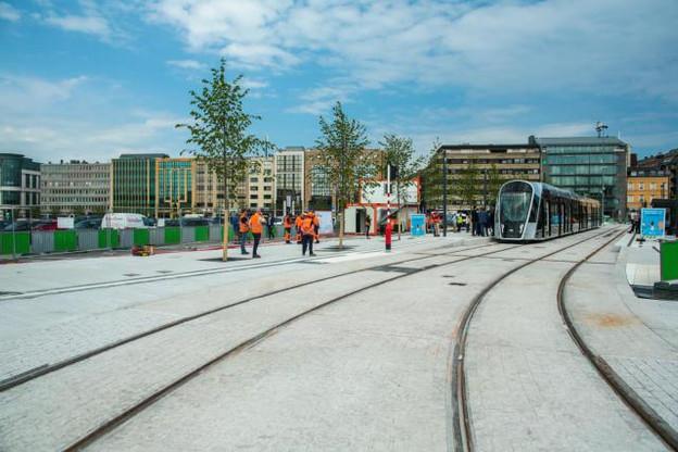 À partir du 27 juillet, les stations Theater, Faïencerie et Stäreplaz (Étoile) seront accessibles. Le service depuis Luxexpo sera gratuit pour l'occasion, jusqu'au 16 septembre. (Photo: Matic Zorman)