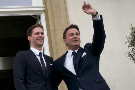 Gauthier Destenay et Xavier Bettel se sont dit oui en 2015. (Photo: Christophe Olinger / archives)
