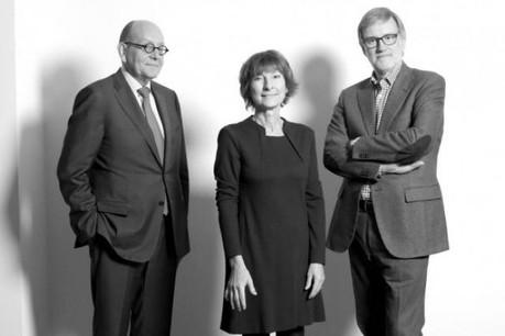 Patrick Gillen (Fonds Kirchberg), Arlette Schneiders (Arlette Schneiders Architectes) et Germain Dondelinger (Fonds Belval) (Photo: Luc Deflorenne)