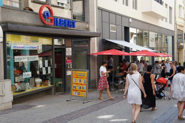 La quincaillerie faisait partie des boutiques historiques du centre-ville. (Photo: Jonas Mercier)
