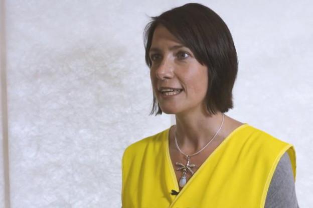 Sandra Domagala, ambassadrice de Dupont de Nemours pour présenter les métiers techniques et, qui sait, susciter des vocations. (Photo: DR)