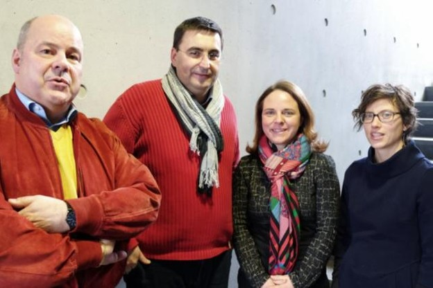 Marc Spautz, Charel Schmit, Corinne Cahen et Anne Franziskus. (Photo: 100.7)