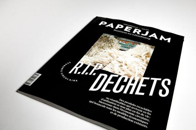 Paperjam dit au revoir aux déchets dans sa cover story spéciale économie circulaire. (Photos: Maison Moderne)