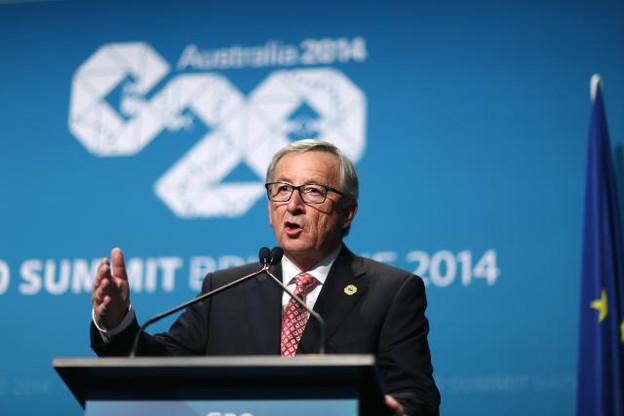 Jean-Claude Juncker s'était déjà positionné en faveur d'une large concertation sur les matières fiscales au sommet du G20 en Australie. Une nécessité pour se sauver politiquement. (Photo: Commission Européenne)