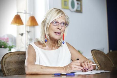 Danièle Fonck, en 2013, lors d'une interview accordée à Paperjam à l'occasion du centenaire du Tageblatt. (Photo: Luc Deflorenne / archives)