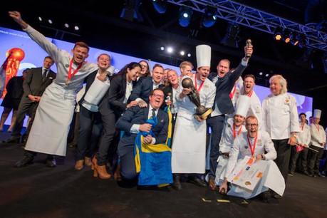 L'équipe nationale de Suède remporte la Culinary World Cup. (Photo: Nader Ghavami)