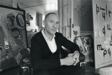 Philippe Apeloig: «Mes sources d'inspiration viennent de la peinture, de la sculpture ou des arts du spectacle.» (Photo: Carlos Freire)