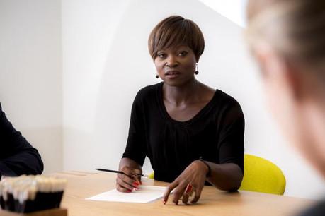 Pour Irdelle Lagnide, une des instigatrices du projet, ce label permettrait d'améliorer la confiance des utilisateurs.  (Photo: Maison Moderne)