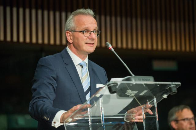 Marc Lauer, président de l'Aca, évoque un avenir mitigé pour les assureurs luxembourgeois. (Photo: Charles Caratini)