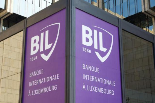 La nouvelle a été officialisée en début d'après-midi au siège de la banque, au 69 route d'Esch (Photo : Charles Caratini / archives)