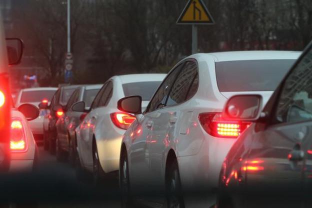 Les embouteillages sont en grande majorité générés par les trajets entre le domicile et le travail.  (Photo: Licence C.C.)