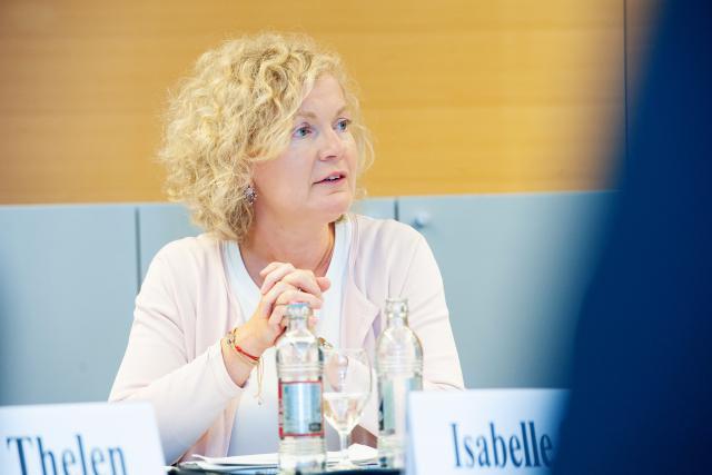 Isabelle Schlesser, directrice de l'Adem. (Photo: La La La Photo / Archives)