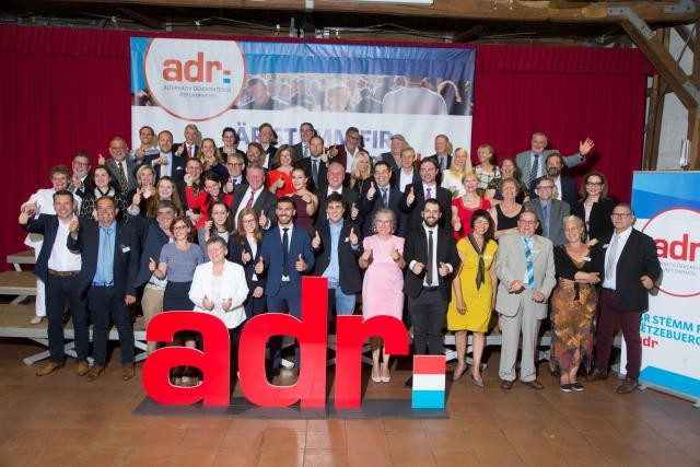 L'ADR présentera 60 candidats pour les élections législatives d'octobre prochain.  (Photo: ADR)