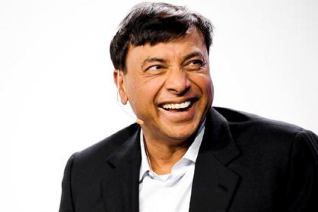 Lakshmi N. Mittal (Président et CEO, ArcelorMittal) (Photo : David Laurent/Wide)