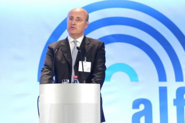 Marc Saluzzi garde confiance devant les tâches «multiples et exigeantes» que connaît l'industrie des fonds.  (Photo: Luc Deflorenne / archives)