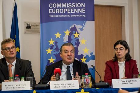 Henri Grethen souligne l'amélioration sensible de la gestion du budget européen, même si les États membres doivent contrôler davantage les dépenses des fonds européens sur leur sol. (Photo: Nader Ghavami)