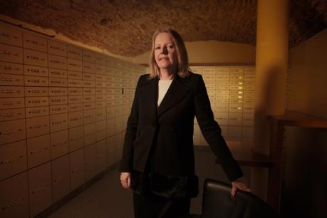 L'entrée dans le secteur bancaire de Colette Dierick résulte plutôt d'une coïncidence. (Photo: Matic Zorman)