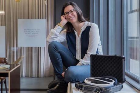 Deux minutes. C'est le temps qu'aura Mathilde Argaud le 11 mai prochain à San Francisco pour convaincre lors de la grande finale de la Startup World Cup. (Photo: DR)