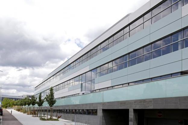 Le complexe est occupé par de nombreux locataires tels que Sodexo, Bâloise Assurances ou encore AG2R La Mondiale. (Photo: Olivier Minaire)